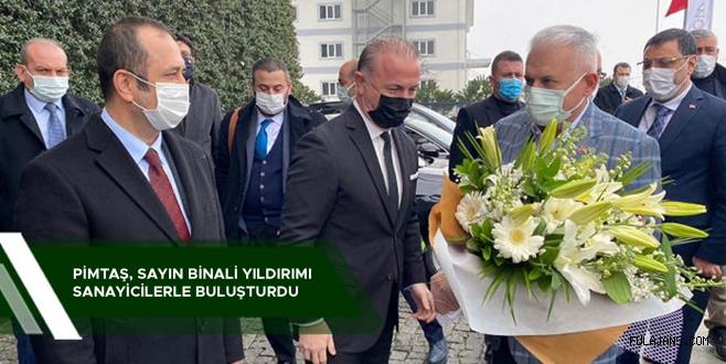 PİMTAŞ PLASTİK YILDIRIM'I AĞIRLADI
