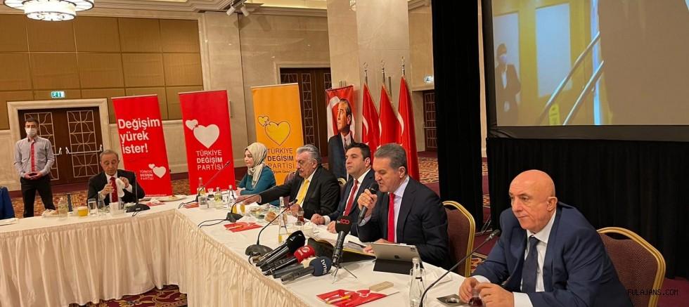 Türkiye Değişim Partisi Genel Başkanı Sayın Mustafa Sarıgül Ankara'da Basın Mensupları ile kahvaltıda buluştu.
